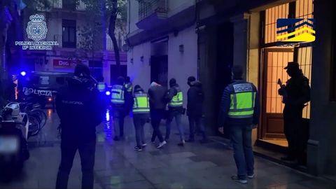 Imagen de uno de los tres argelinos detenidos en Barcelona en la operación antiyihadista