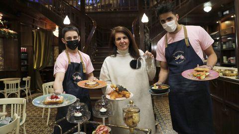 Dani, Beatriz y Edu tienen todo listo en La zapatería del abuelo