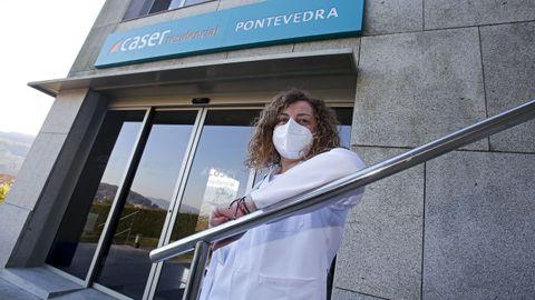Beatriz Iglesias, directora de Caser Residencial Pontevedra, en Vilaboa