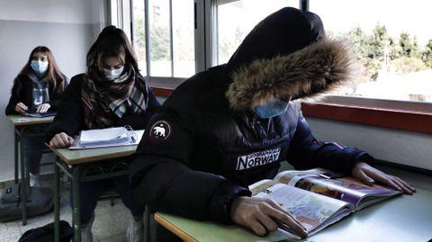 Alumnos del IES Blanco Amor de Ourense
