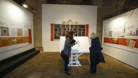 «Afonso X e Galicia» inaugurouse este martes na Igrexa da Universidade de Santiago