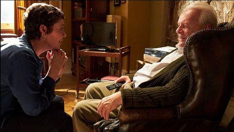 Olivia Colman y Anthony Hopkins, en «El padre»