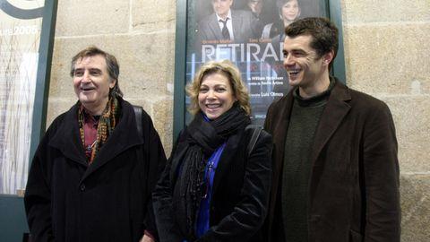 Gerardo Malla, con Kity Manver y Toni Cantó en una imagen del 2013