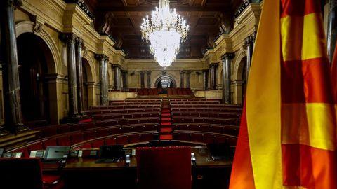 Hemiciclo del Parlamento de Cataluña