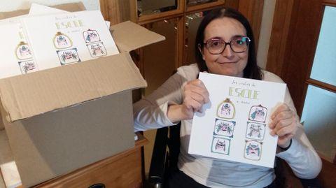 María Varela, cuya historia ha inspirado este nuevo cuento infantil