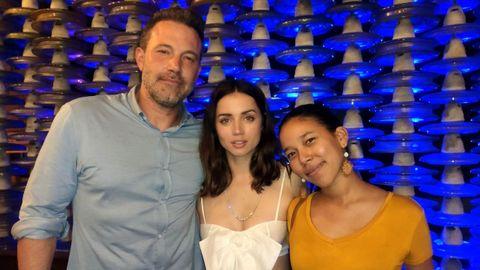La pareja posó con una fan en marzo del 2020 en Cuba