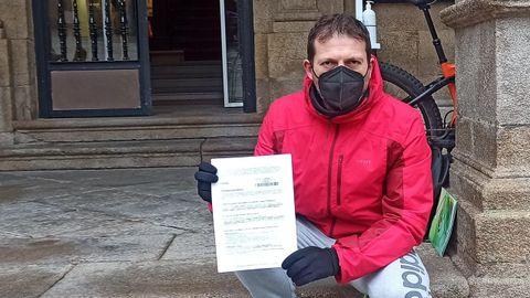 Alfonso Iglesias Rabanal presentó un escrito por registro
