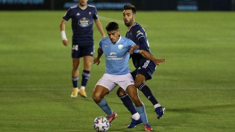 Davo dio dos asistencias de gol en el histórico enfrentamiento contra el Celta en Can Misses, y acumula cuatro goles en la Liga