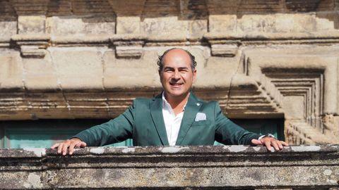 Cesáreo Pardal, presidente del Clúster de Turismo de Galicia
