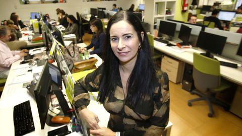Patricia García, presidenta del Círculo de Empresarios de Vigo