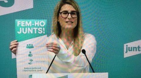 La vicepresidenta de JxCat, Elsa Artadi, instó este viernes a llenar las urnas de forma masiva de votos independentistas si las elecciones se celebren el 14 de febrero ante la «ofensiva y la operación el Estado» que hay en marcha y para demostrar que no manda el PSOE en Cataluña
