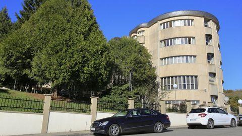 Residencia de mayores de Sarria, donde hay un brote de coronavirus con al menos 47 personas mayores afectadas