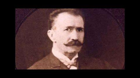 Retrato de Abelardo Baanante, el filántropo monfortino que da nombre a la calle en la que nació
