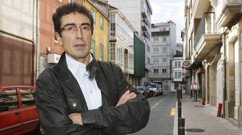 Sánchez, fotografiado en Carballo, en el 2010