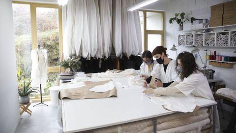 El taller de Sara Lage en A Tinería