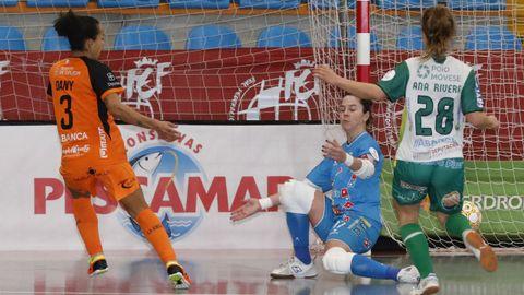 Dany fimró el segundo gol del Pescados Rubén en la Supercopa contra el Poio