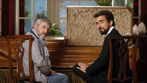 Los actores Luis Iglesia y Miguel Canalejo son los dos grandes protagonistas de «Método Criminal»