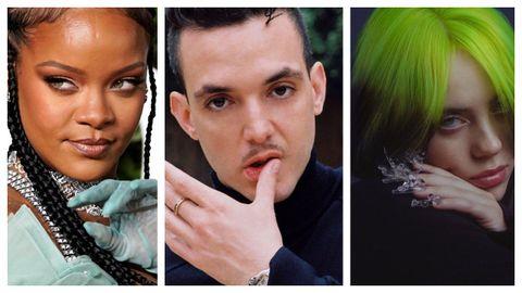 Rihanna, C. Tangana y Billie Eilish sacarán disco este año