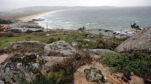 La playa de A Lanzada abarca los concello de O Grove y Sanxenxo