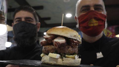 La Estación de Loman (Ourense) tiene la tercera mejor hamburguesa de España y la mejor de Galicia