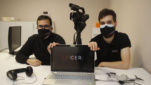 Pablo Feijóo y Christian Lens arrancaron su proyecto solo dos semanas antes del confinamiento