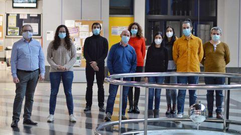 Investigadores de los grupos Enxeñaría Química EQ2 y Plantas, Solo e Aproveitamento de Subprodutos BV1 de la Facultad de Ciencias del campus de Ourense