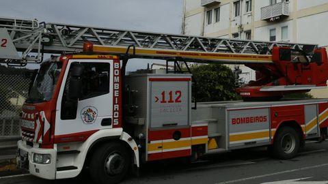 Imagen de archivo de una intervención de los bomberos de Arteixo.