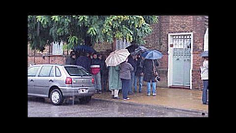 Casa donde fueron asesinados los Vilalba Ron en Junín