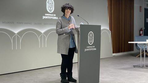 Anabel Gulías, portavoz del gobierno local de Pontevedra