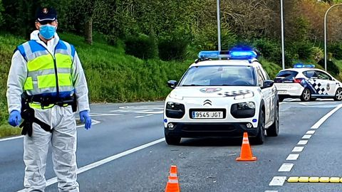 Imagen de archivo de la Policía Local de Teo