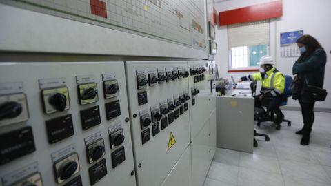 Depuradora de Betanzos, sistema de Viaqua para la detección del covid-19 en las aguas residuales