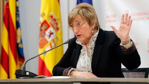 La Consellera de Sanidad valenciana, Ana Barceló