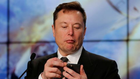 El empresario Elon Musk