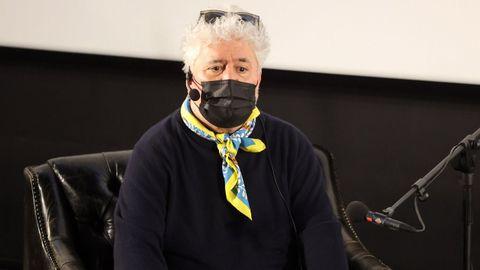 Pedro Almodóvar, en un homenaje a Julieta Serrano en diciembre pasado
