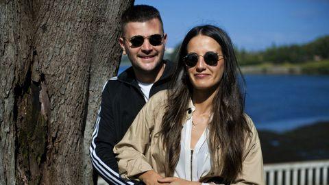 Zeltia y Adrián pospusieron su boda para este septiembre en Carballo