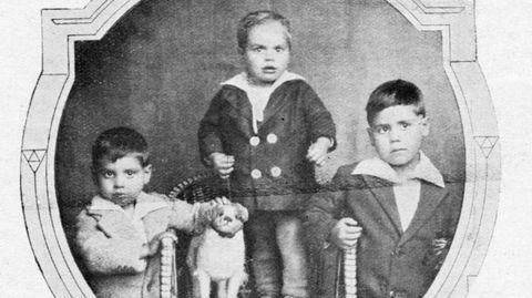 Los niños José, Amador y Juan