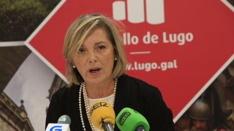 La concejala Paula Alvarellos expuso en su momento la decisión de apartar a la jefa de personal