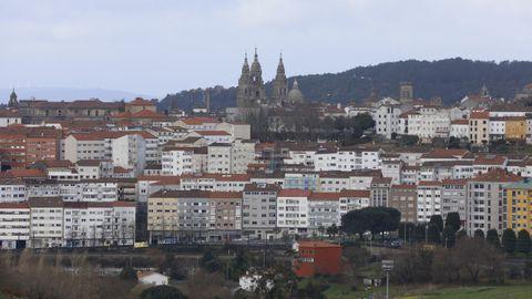 Santiago tiene el tercer parque de viviendas de Galicia con mayor valor total y el segundo por habitante
