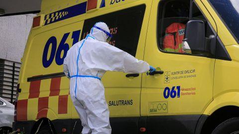 El hospital de Monforte ha atendido ya desde el inicio de la pandemia a más de 100 personas con síntomas graves de covid-19