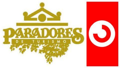 Logos de Paradores y Cercanías de Renfe