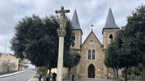 La iglesia de Fontei, en A Rúa de Valdeorras