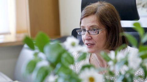 Teresa Gutiérrez, directora de Augas de Galicia