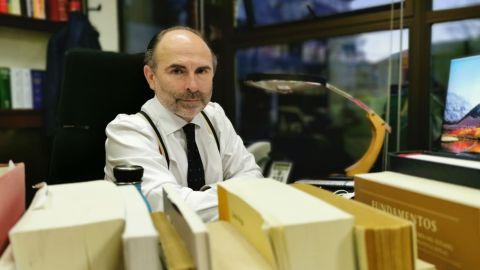 Ignacio Villaverde, rector de la Universidad de Oviedo