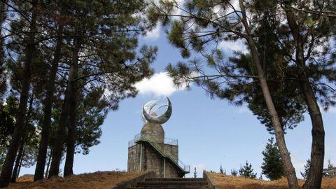 Mirador Faro das lúas en Vilanova