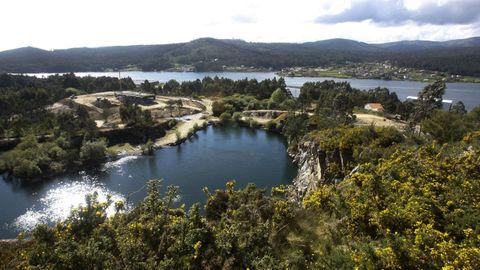 Desde los molinos de viento hay una buena vista de Pedras Miúdas que no debes perderte en Catoira