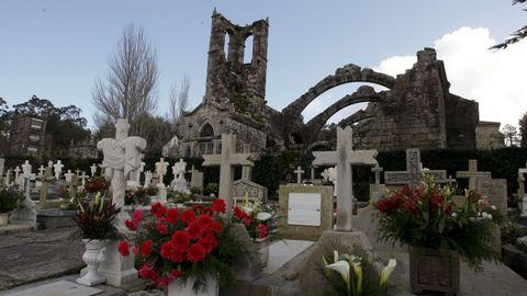 Las ruinas de Santa Mariña siempre merecen una visita, Cambados