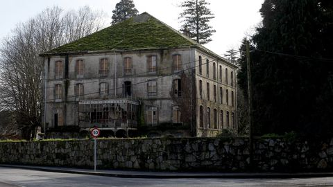 Casa de los duques de Terranova, Vilagarcía