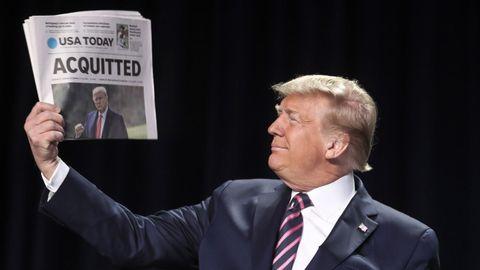 El Senado de Estados Unidos absuelve a Donald Trump por el asalto al Capitolio