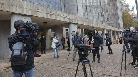 Sede de los juzgados de Santiago, en una imagen de archivo