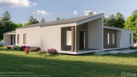 Infografía de la casa pasiva que Método Crea ha diseñado y construirá en Cervo